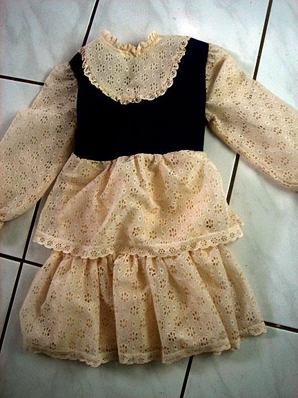ugly vintage dress